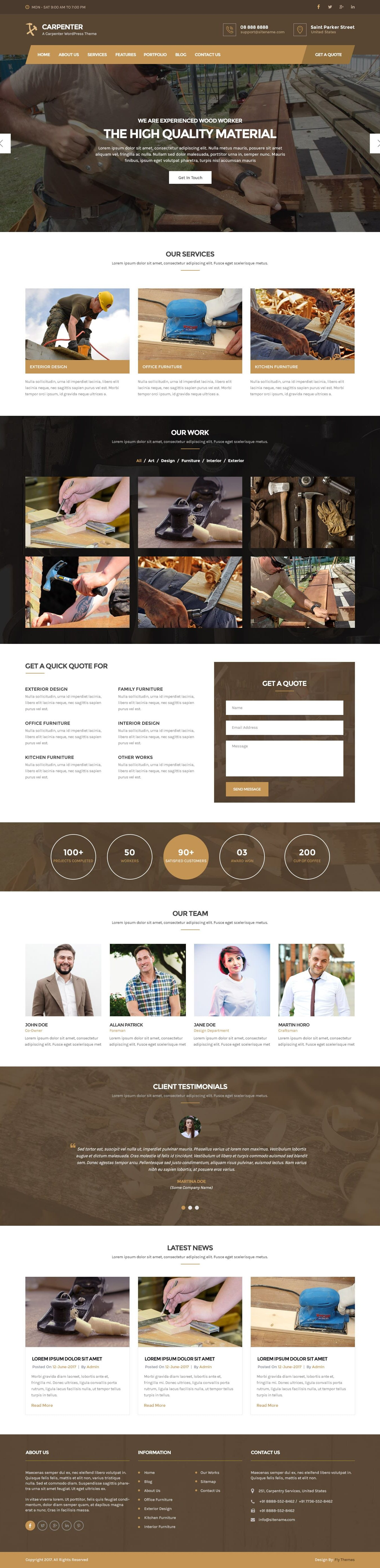 carpenter-wordpress-theme