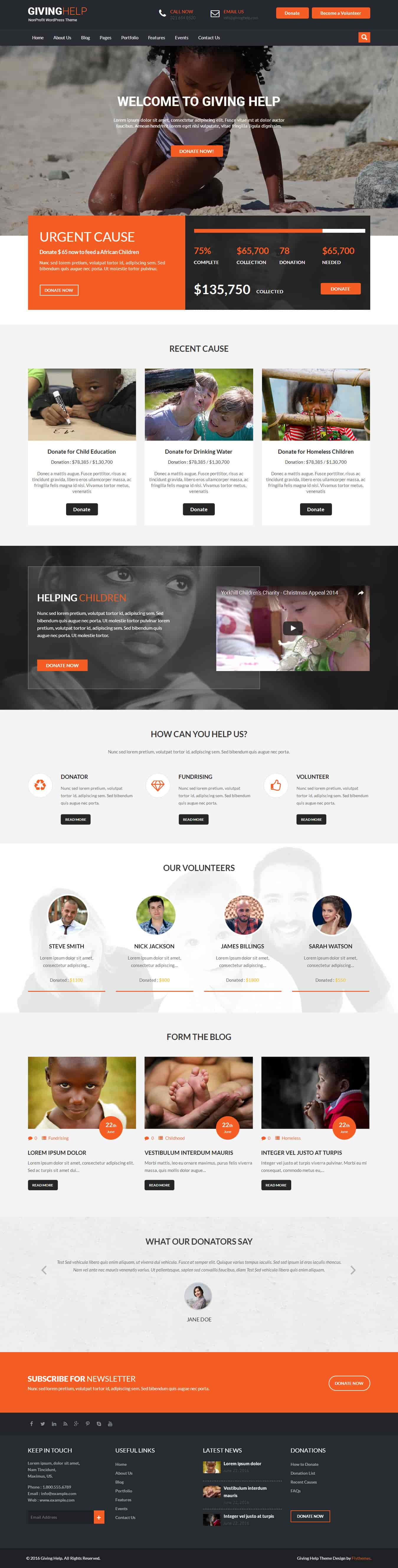giving-help-wordpress-theme