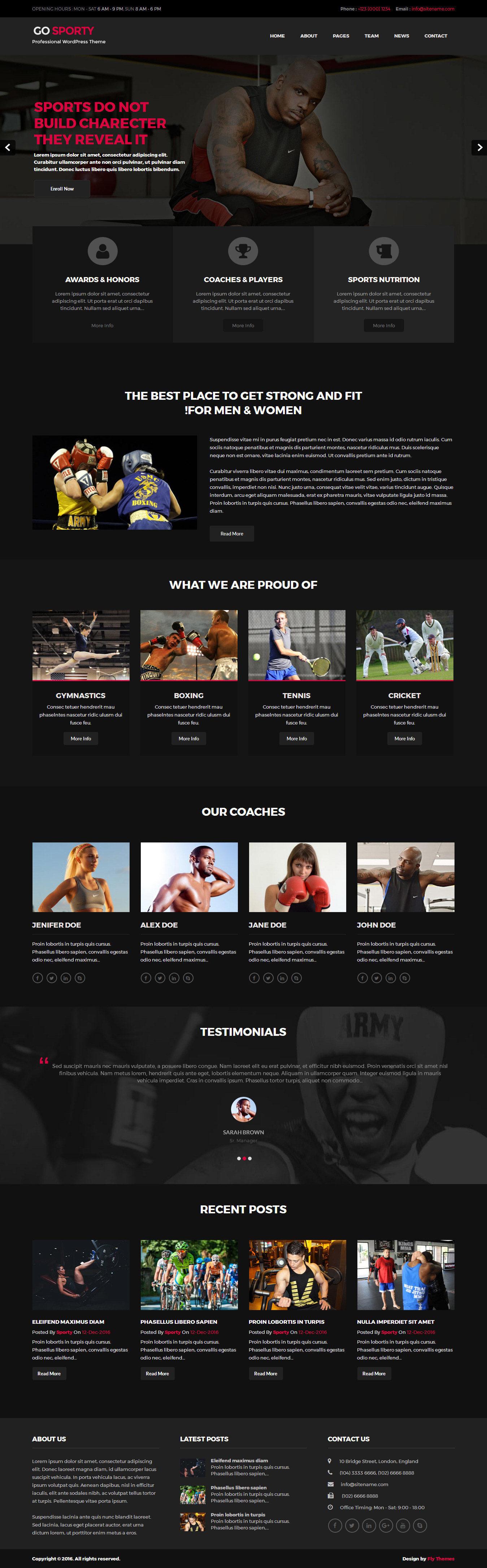 go-sporty-wordpress-theme