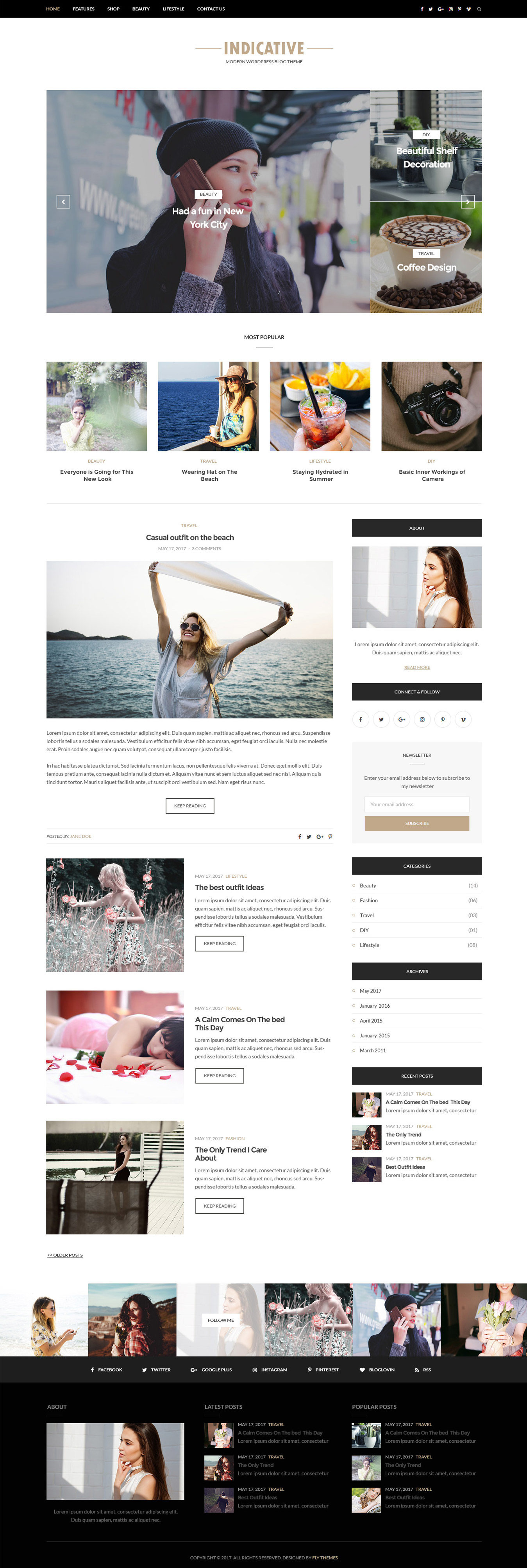 indicative-blog-wordpress-theme