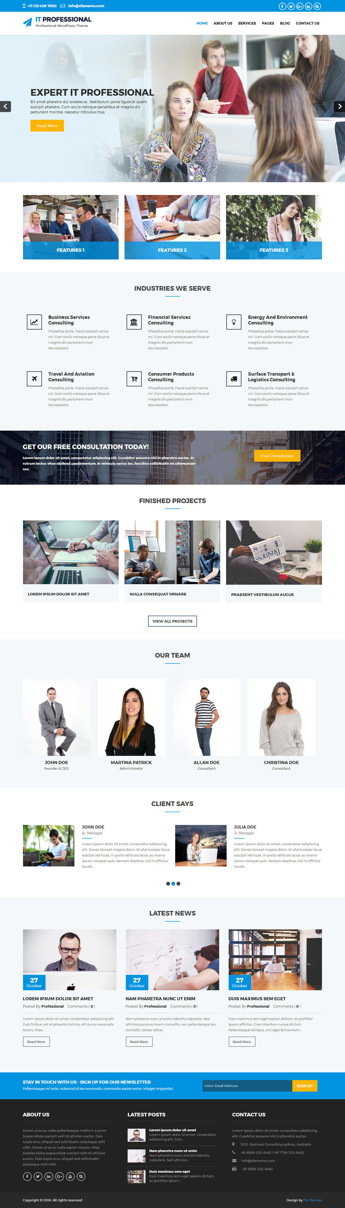 it-professional-wordpress-theme