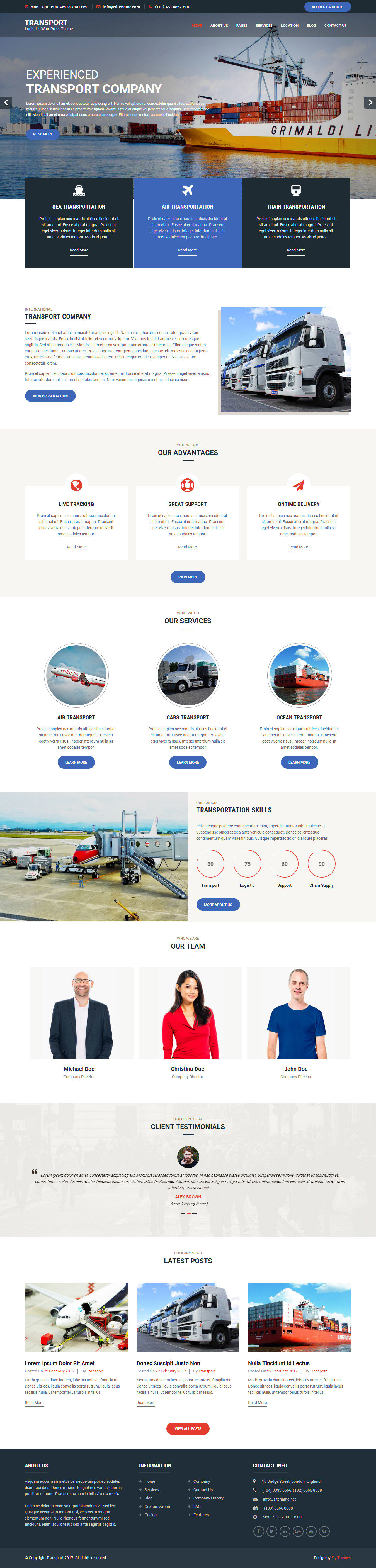 transport-wordpress-theme