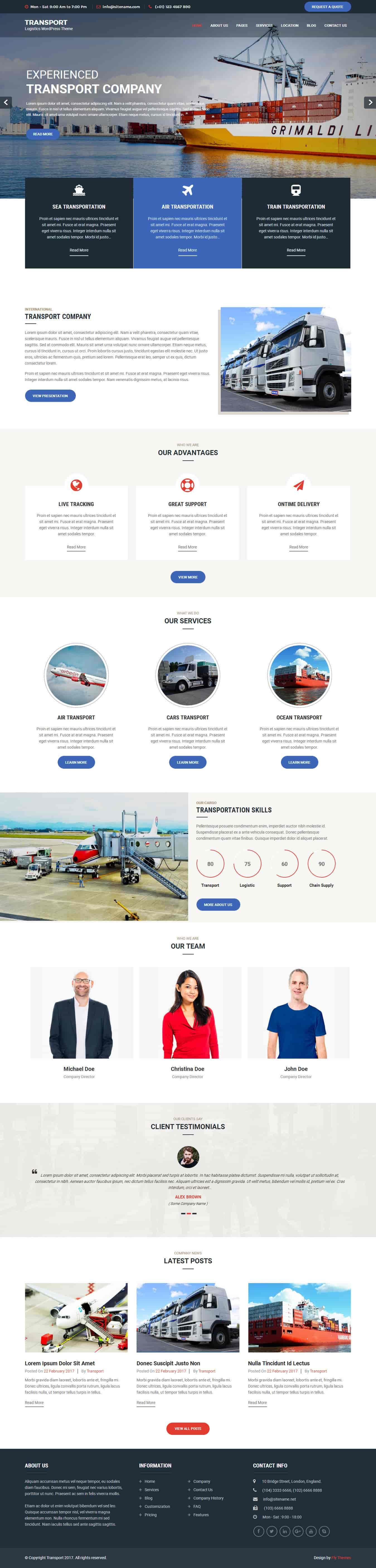 transport-wordpress-theme