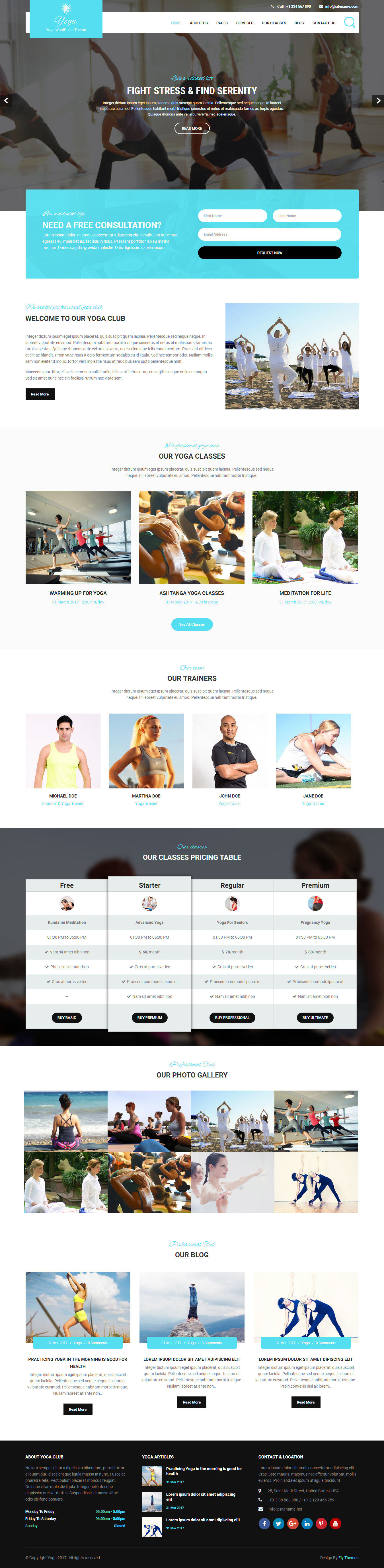 yoga-wordpress-theme
