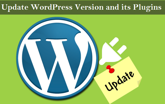 Update WordPress version and its plugins