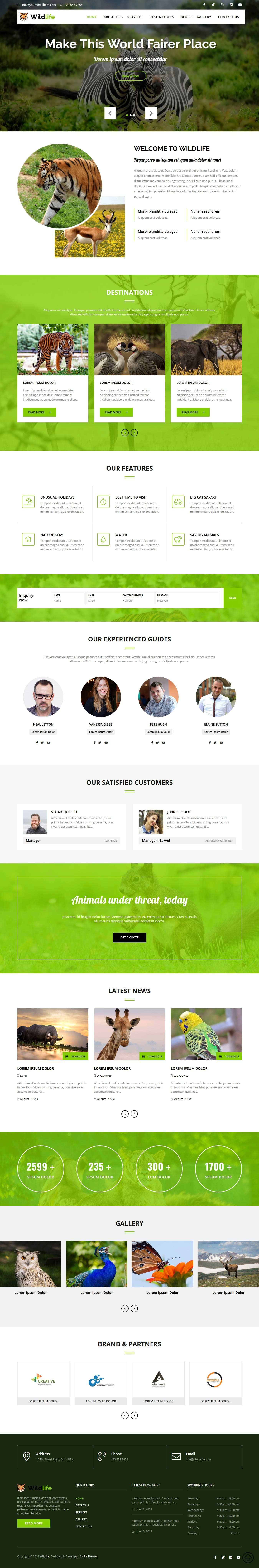 Professional WordPress Themes & Templates Download